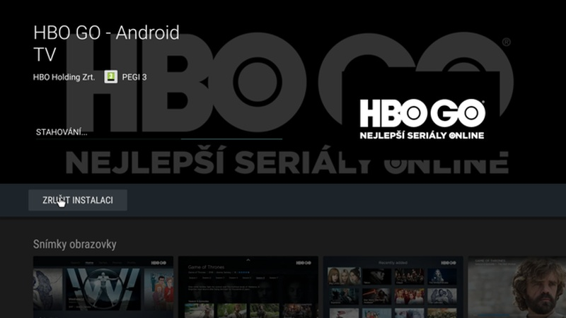 hbo go android tv not working